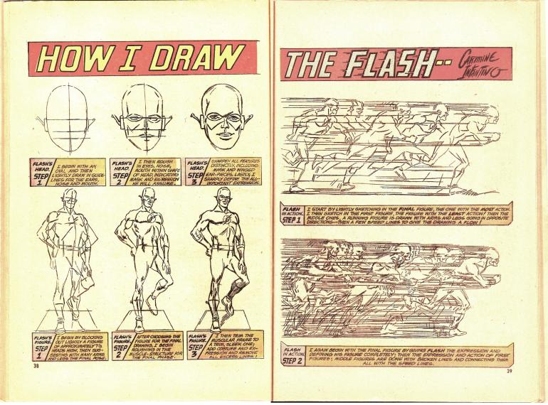 How to Draw the Flash by Carmine Infantino