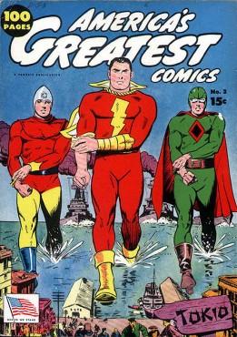 AMERICA'S GREATEST COMICS No. 3, Fawcett