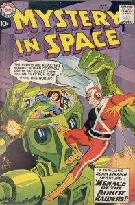 adam strange, mystery in space 53