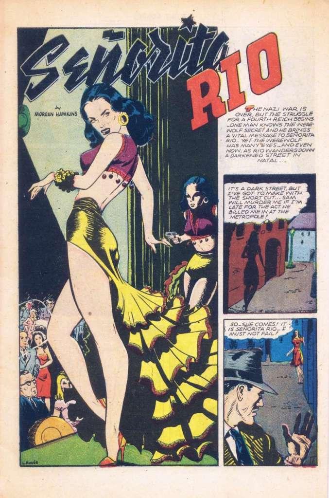 Senorita Rio, FIGHT COMICS 41