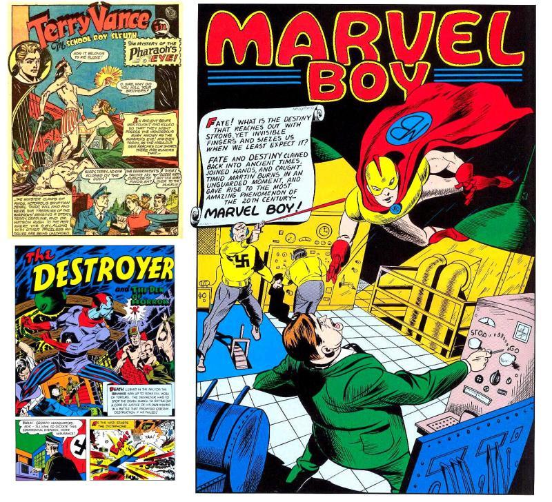 Marvel comics by Oksner (Timely)